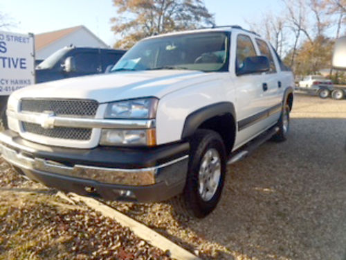 2004 CHEVROLET AVALANCHE LT Z71 white beige leather sunroof pw pdl tiltcruise Toyo tires c