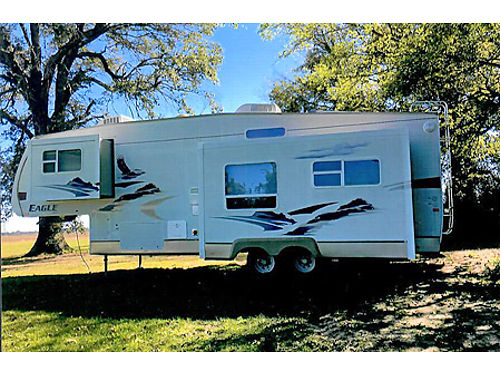 JAYCO EAGLE 5TH WHEEL 3 power slides extra clean Second ac unit BR professionally decorated S