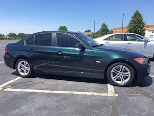 2008 BMW 328i 102k miles garage kept like new inside  out leather sunroof sport wheels Bridg