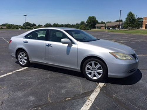 2007 LEXUS ES350 silver wgray leather sunroof loaded with equipment runs  drives perfect 69