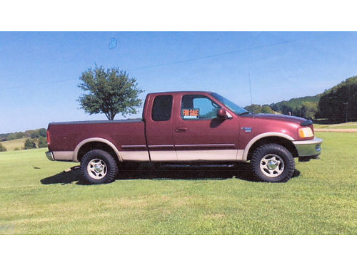 1998 FORD F-150 extented cab46 V8 4WD new transmission new tires new ac new brakes new run