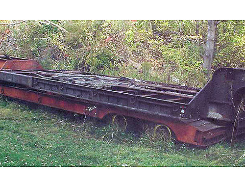 LOW-BOY'S: NELSON 30 OR 35 TON 8'WX35'L. ...