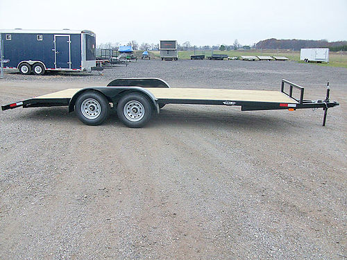 HAUL It Premium Open Car Haulers 18 and 20 foot 3500 and 5200 lb axles slide out ramps powder c