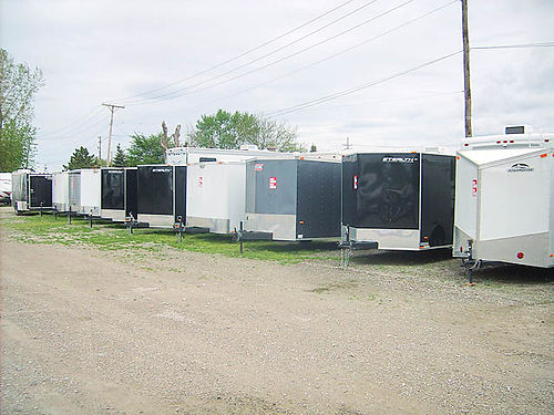 OVERSTOCK 60 New and Used Enclosed Cargo Trailers from 995 wwwhwmotor homescom Canton MI open