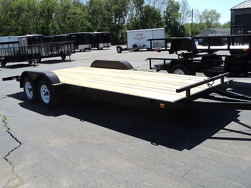 CAR Hauling Trailers STD C-channel frames treated floors 4-wheel brakes and more load it up hi