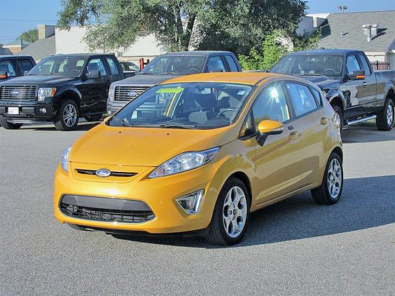 2011 FORD Fiesta SES FC018A automatic gas V6 16L FWD 165month for 72 months or 10395