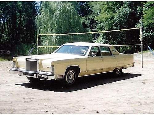 1977 LINCOLN Continental 86000 original miles Florida Barn find pristine condition has never se
