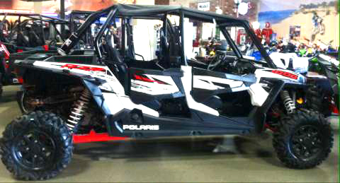 2014 POLARIS RZR 1000 four seater with extras windshield top rear hitch like new 0 down fina