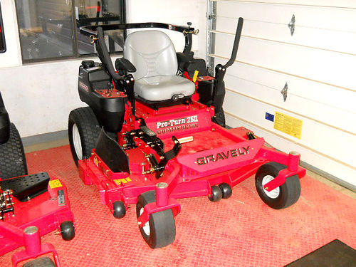 GRAVELY Pro-Turn 260 992254 demo 27 HP Kawasaki Pro Gas deluxe suspension seat 60 HD fabricat