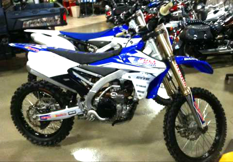 2015 YAMAHA YZ450F Full Throttle Demo Race EDITION FALL BLOWOUT SPECAIL 0 down financing availab