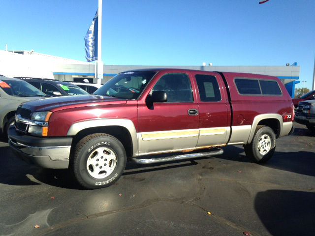 2003 CHEVY Silverado 1500 7-343464C 4 door - extended cab 4x4 1 owner low miles new tires 7