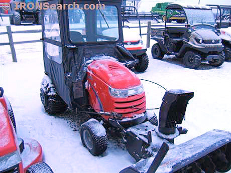 2009 SIMPLICITY Prestige 25 new 25 deck snow cab snowblower 25 HP Kohler only 56 hours 8050