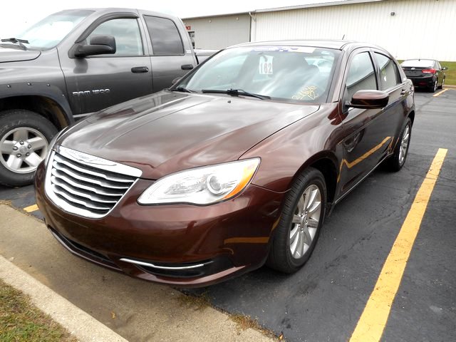 2012 CHRYSLER 200 Touring J101034 only 27688 miles like new 12907