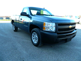 2013 CHEVY Silverado 1500 1618 work truck regular cab 4x2 long box 12800