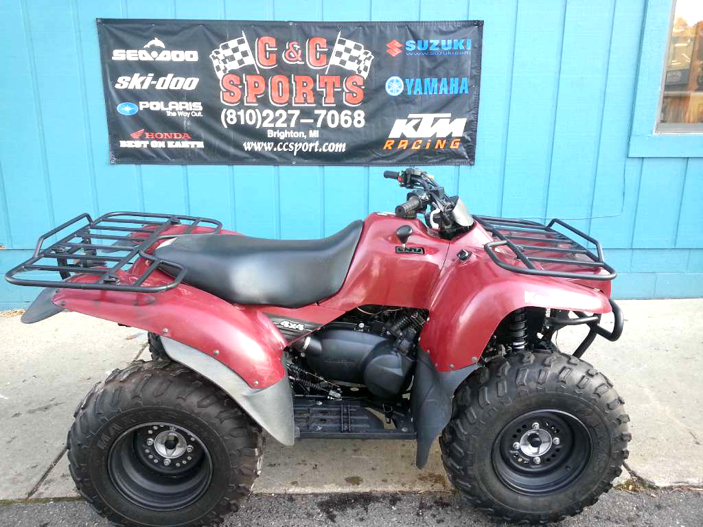 2010 KAWASAKI Prairie 360 4x4 only 50 hours financing available only 4499For more information