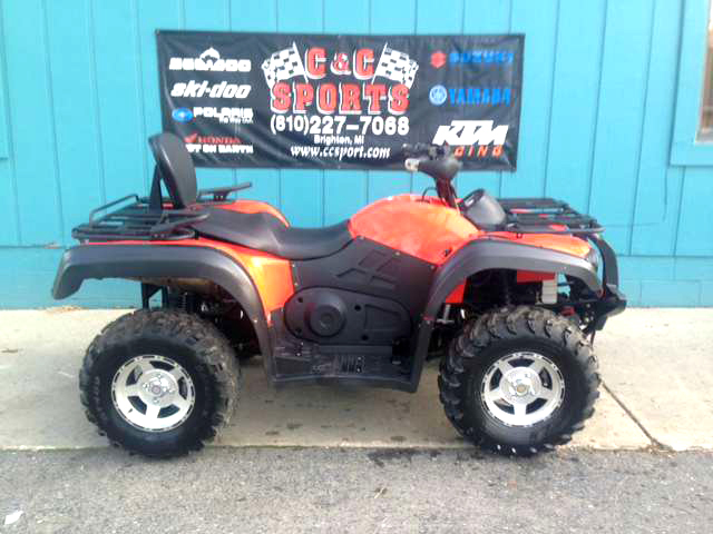 2012 HISUN 800 only 7 miles a lot of power for a low price only 4599For more information contac