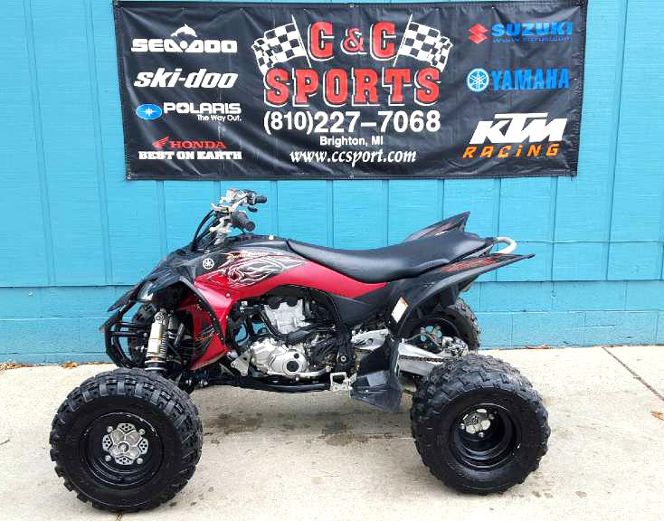 2014 YAMAHA YFZ 450 only 60 miles nice clean quad financing available only 6999For more inform