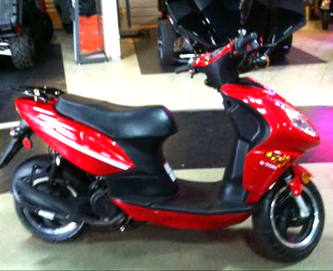 2009 E-TON America 150 Scooter only 87 miles like new Fall blowout specail only 1288