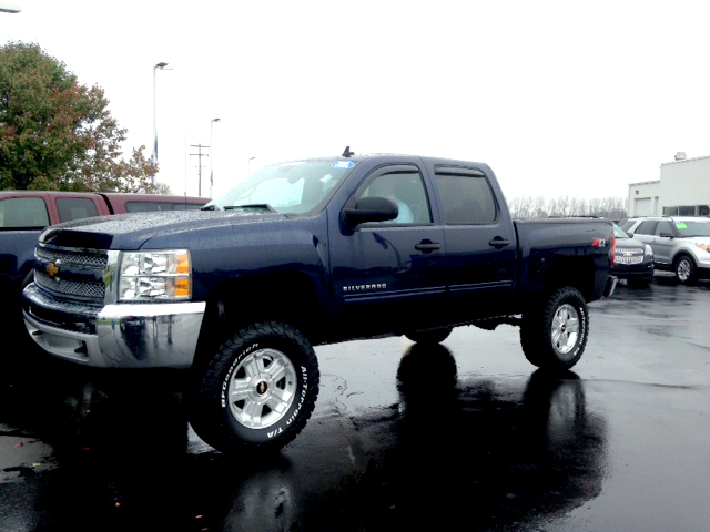 2012 CHEVY Silverado 1500 LT 7-442510A lifted low miles 4x4 Z-71 1 owner 27500