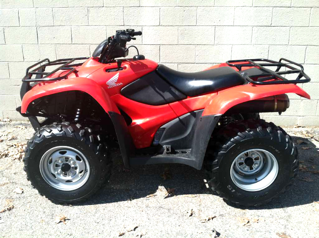 2008 HONDA Four Trax Rancher 4x4 ES only 700 miles selectable 4x4 financing available only 5299