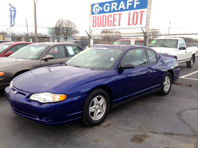 2005 CHEVY Monte Carlo 7-154955A 1 owner new tires very low miles 5900