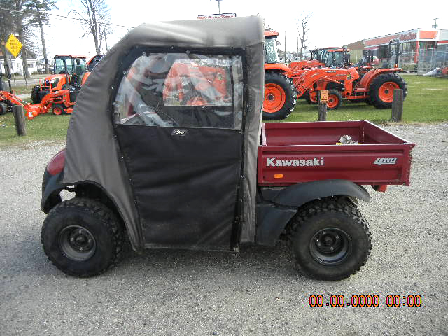 2006 KAWASAKI Mule with soft cab one owner well maintained Kawasaki gas engine variable speed ta