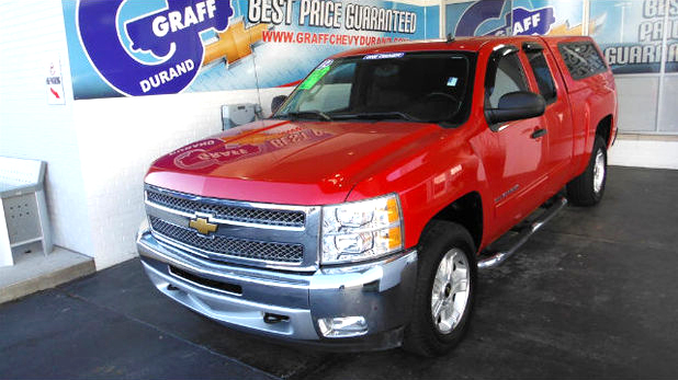 2012 CHEVY Silverado 1500 7-659662A 4x4 loaded clean topper 1 owner 23900