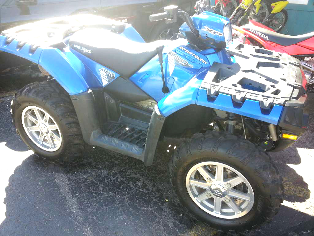 2013 POLARIS Sportsman XP 850 HO ESP only 475 miles blue fire financing available only 7999F