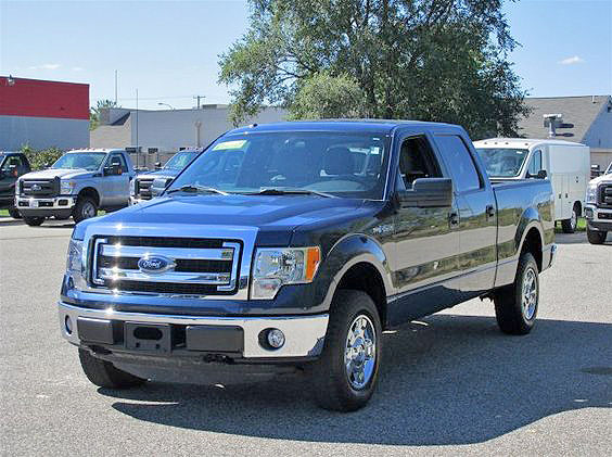 2013 FORD F-150 XLT FU175 crew cab 4WD 487 per month for 60 months 30500