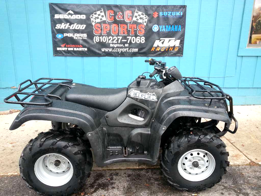 2007 SUZUKI Eiger 400 4x4 automatic only 4300 miles nice shape new tires financing available