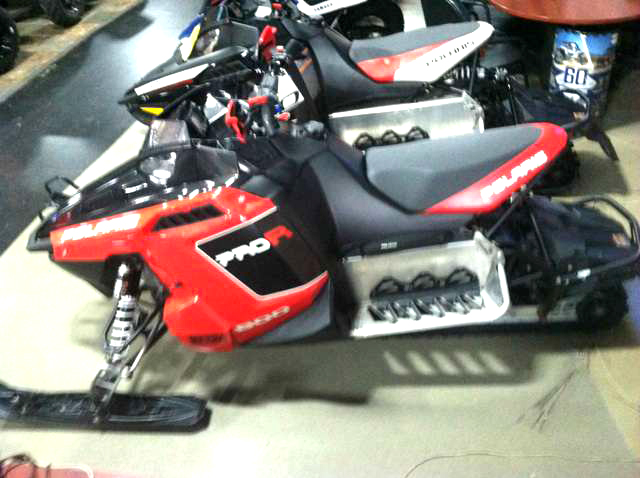 2011 POLARIS 800 Rush Pro-R hand and thumb warmers 0 down financing available only 5997