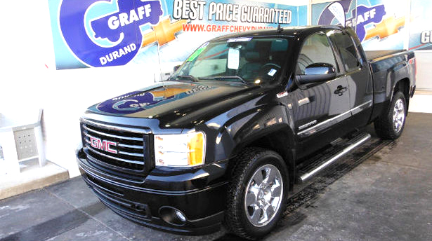 2011 GMC Sierra 1500 SLT 7-155193A extended cab 4x4 heated leather super low miles 29900