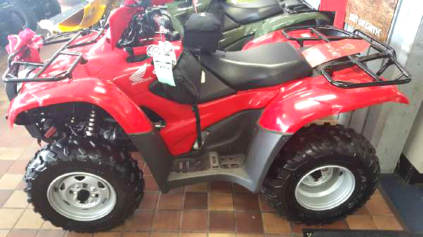 2013 HONDA Four Trax Rancher E5 with EPS 4x4 last one 4999