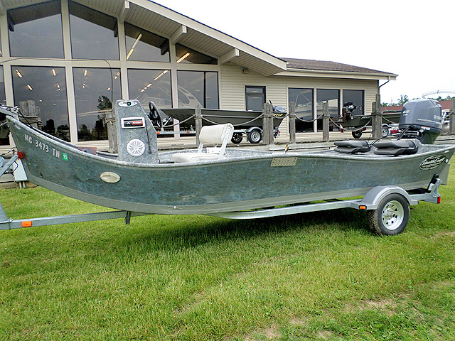 2012 STEALTHCRAFT 1860 used 9065 hp Yamaha Jet trailer included 18900