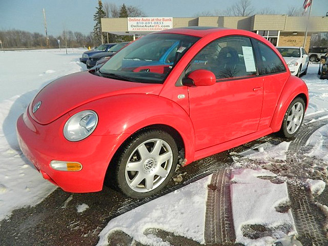 2002 VW Beetle GLX 1685 5 speed manual transmission only 67200 miles power moon 5650