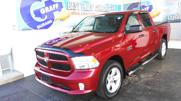 2015 RAM 1500 7-182852A crew cab 4x4 only 10000 miles 27800