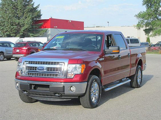 2013 FORD F-150 FP052 crew cab FWD 538 per month for 72 months 33900