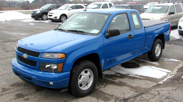 2008 CHEVY Colorado 67181 extended cab 4 cylinder clean 10999