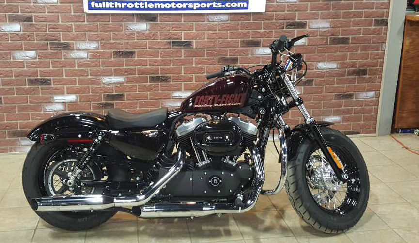 2014 HARLEY-DAVIDSON Fourty-eight only 273 miles blackened cayenne sunglo 0 down financing avail