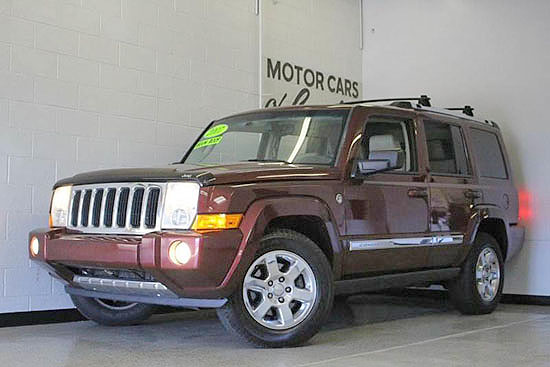 2007 JEEP Commander V8 4x4 leather 11900