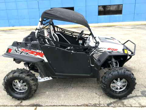 2012 POLARIS RZR 900 XP 260 miles loaded after market rims and tires front bumper top and rear