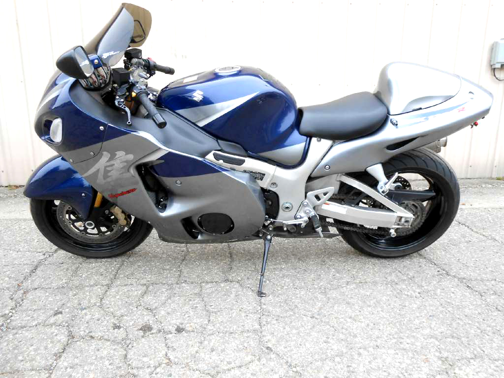 2006 SUZUKI Hayabusa 1300 Yosh exhaust and under tail kit financing available only 5999