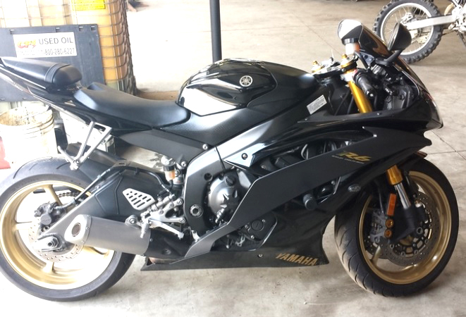 2009 YAMAHA R6 excellent condition financing available only 6800