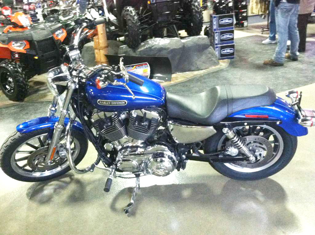 2009 HARLEY-DAVIDSON Rare Sportster 1200 Low only 9376 miles low suspension lots of power and per