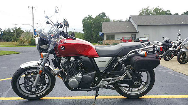 2013 HONDA CB1100 8125 miles candy red very smooth riding bike 6499