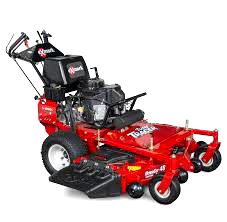 TURF Tracer many options for commercial walk-behind mowers including eco friendly propane options