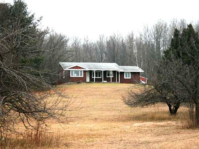 724 STOCKWELL Greenwood Twp 2BD 10 - wooded  rolling acres 28x40 pole barn newer heating sys