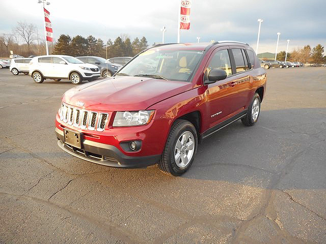 2014 JEEP Compass Sport J101098 well equipped very clean new tires 14695
