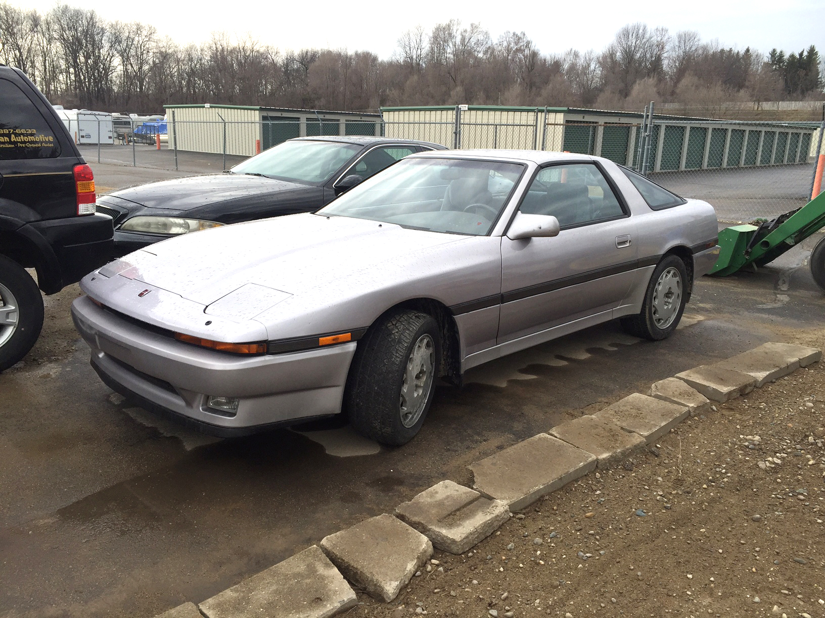 1988 TOYOTA Supra intercooled turbo 5-spd targa top 53k miles 3000cc rare find 4995