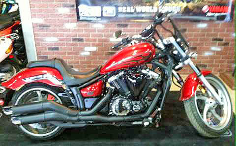 2012 YAMAHA Stryker low miles totally custom even before you customize it great bike - great pric